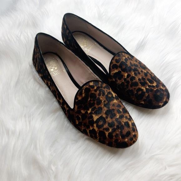 0b78ee4ca0a Vince Camuto Leopard Calf Hair Loafers. M 5b99d2c304e33db2e9352a49